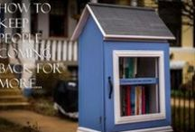 Featured On Our Blog / The blog at www.littlefreelibrary.org is your resource for everything from building tips to book recommendations to related craft ideas and websites to check out. Any video, story, Library or item that we mention in the blog, we also pin here!