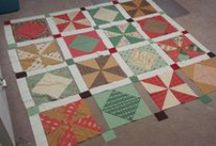 On the Tide / My blog, which you can check out at http://www.tidelinequilts.com/Blog.html