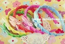 JennyBows / Handicraft, Hair Bows, 리본공예,선물포장, 바느질, 수제비누
