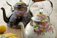 """~♥ Teapots & Caddys Of All Kinds Old & New  ♥~ / This board is a collection of teapots from all around the world.  They are made of pottery, ceramic or china.  They are beautiful works of art and a very collectiable pieces.  I am also including teaboxes for storing your tea.  If you would like to contribute to this board please notify me on the """"add me"""" pin and I will send you an invitation.  Items that do no fit the theme of the board will be removed."""