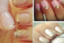 Myrtle nails / Wedding manicure ideas