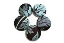Handmade Fabric Buttons