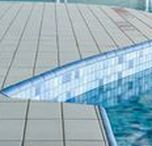 Gungahlin Aquatic Centre / Ceramic Solution supplies and installs tiles for commercial pools, these include Olympic pools, lap pools, leisure pools within resorts and apartments, hydrotherapy pools and learn to swim pools.