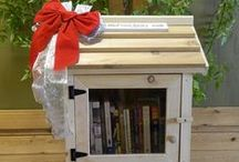 Holiday Gift Ideas For Book Lovers / Creative and fun gift ideas for the book lover in your life. For more ideas, check out http://littlefreelibrary.org/product-category/accessories/ / by Little Free Library