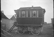 hobo house / nomads, vagrants, hobos, tramps, drifters