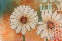 Mixed Media Journaling - Dorlene Durham / Mixed media journaling by Dorlene Durham using Bloom Stamps!