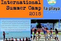 IV International Summer Camp 2015 / The International Summer Camp at the only Language School in Spain located right on the beach! Lot of activites, lot of fun!
