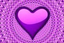 Purple / I love purple!  I know you do, too.