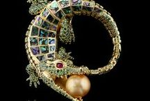 Antique jewels and miniatures.