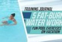 Aqua fitness.