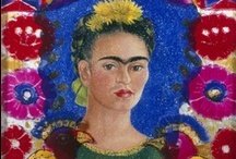 Frida Kahlo / A woman known for her political convictions and fiery spirit, Frida Kahlo (1907-1954) created works of great introspection. When she married artist, Diego Rivera, they became a celebrity couple, and she achieved international fame as an artist.