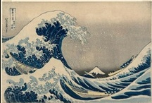Katsushika Hokusai / Katsushika Hokusai (1760-1849) was a master in the Japanese art of woodblock printing. He began drawing at the age of five and drew every day. He produced more than 30,000 prints during his lifetime.