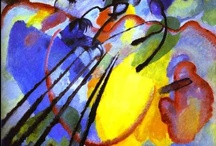 Wassily Kandinsky / Wassily Kandinsky (1866-1844) is considered the father of Abstract Expressionism. Kandinsky was heavily influenced by music and strived to make the canvas sing.