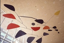 Alexander Calder / Originally trained as an engineer, Alexander Calder (1898-1976) combined his understanding of balance and motion, his fascination of the universe, and his playful nature to create amazing mobiles and stabiles.