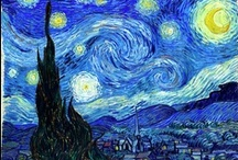 Vincent Van Gogh / Though internationally recognized today, surprisingly Vincent Van Gogh (1853-1890) only sold one painting during his lifetime. Painting in a unique style, he is best known for his use of vibrant colors and bold brushstrokes.