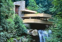 Frank Lloyd Wright / Arguably one of the greatest architects of all time, Frank Lloyd Wright (1867-1959) designed buildings that challenged traditional boundaries. His goal was to create buildings that would enhance and integrate with the surrounding environment.