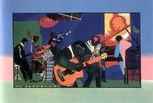 Romare Bearden / A Harlem Renaissance artist, Romare Bearden (1911-1988) was influenced by African-American writers, musicians, and activists of his time. He experimented with a variety of materials in his art, but he is best known for his collages.