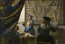 Johannes Vermeer / Overlooked for almost two centuries, Baroque genre painter, Jan Vermeer (1632-1675) has become famous for his use of light and nearly photographic realism.