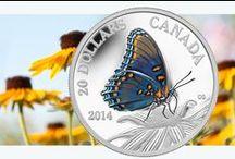Nature et faune / Les majestueux paysages ainsi que la faune et la flore diversifiées du Canada constituent un thème de prédilection pour les numismates du Canada et d'ailleurs dans le monde.