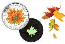 La feuille d'érable / Depuis près de 300 ans, la feuille d'érable rouge symbolise l'identité et les valeurs canadiennes. De nos jours, les Canadiens affichent fièrement ce symbole qui les distingue partout où ils vont.  / by Monnaie royale canadienne