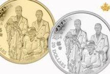 La famille royale du Canada / La Monnaie royale canadienne est fière de célébrer sur ses pièces de collection des événements historiques marquants, comme le jubilé de diamant de Sa Majesté la reine Elizabeth II et la naissance du poupon royal. L'effigie de notre monarque figure sur toutes les pièces canadiennes produites par la Monnaie depuis 1908.