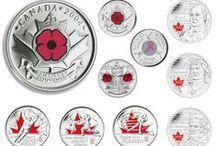 Monnaie de circulation / À notre usine de haute technologie de Winnipeg, nous frappons chaque année plus d'un million de pièces de circulation canadiennes, chacune portant depuis 1908 l'effigie de notre monarque. Les revers de ces pièces par contre ont changé considérablement au fil de l'évolution de notre mosaïque culturelle et de l'utilisation de la technologie, comme la couleur. / by Monnaie royale canadienne