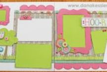 Scrapbooking Layouts / Fabulous layouts and papers to try
