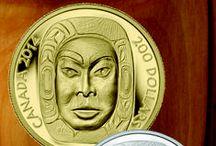 Pièces de luxe / Les pièces de un kilogramme et de un-demi kilogramme en argent et en or purs à 99,99 % sont des produits haut de gamme de la Monnaie. Émises en tirage très limité, ces pièces sont ornées de magnifiques motifs et rehaussées d'une superbe gravure.  / by Monnaie royale canadienne