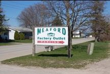 Where are we?? / Here is a map to help you find all the amazing deals at the Meaford Factory Outlet