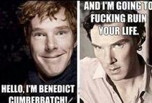 Benedict cumberbatch, because....  Squeeeeee