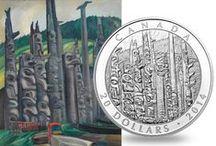 Les arts  / Qu'elles s'inspirent de peintures, de photographies, de sculptures ou de bijoux, les pièces de la Monnaie royale canadienne sont de petites toiles qui mettent en valeur de grandes œuvres d'art.