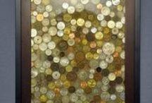 Collections pour tous les goûts / Des façons intéressantes et amusantes de présenter votre collection de pièces.