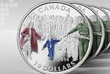 Le Canada et la Deuxième Guerre mondiale / Un hommage aux efforts et aux sacrifices du Canada pendant la Deuxième Guerre mondiale / by Monnaie royale canadienne