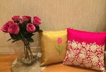cushions....