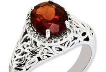 Garnet: January Birthstone / January Birthstone #birthday #birthstone #january #garnet #jewelry  www.kevinjewelers.com