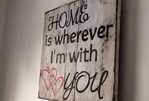 Home is wherever I´m with you - Domov