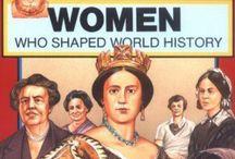 vrouwen door de geschiedenis
