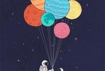 EXTRA-TERRESTRIAL / On my wishlist: walking on the moon.