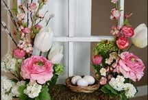 Easter inspirations / Home decorations for Easter! Check this out and choose something for you <3
