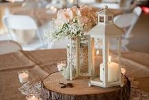 Rustic Theme / From babies breath to Burlap to Mason jars to wine barrels, the Rustic wedding theme has really taken off over the last few years. Here are our inspirations for your rustic wedding theme.