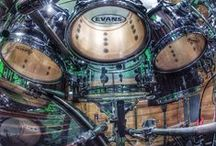 DRUMS & DRUMMERS / by Tony Ross