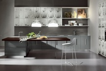 ETNA / Etna, designed by Rodolfo Dordoni, exceeding the model of the contemporary minimalist kitchen, expresses a new concept of cultured and elegant kitchen for a space planned to a man's size. More info at: http://www.rossana.it/en/products/etna/concept.html