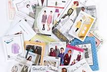 Sewing pattern brand collection / many sewing pattern brands commercial & independent