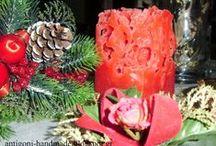 Διακοσμητικά κεριά / Χειροποίητα διακοσμητικά κεριά