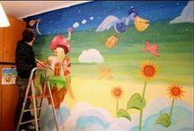 Ζωγραφική - Τοιχογραφίες / Ζωγραφική σε παιδικά δωμάτια και επαγγελματικούς χώρους