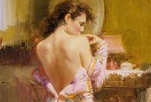 Ζωγραφική - Γυναίκα / Παρουσίαση έργων επιλεγμένων ζωγράφων