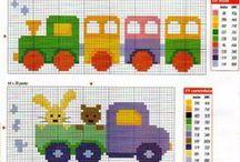 Κεντήματα για παιδιά / Παιδικά σχέδια για κέντημα