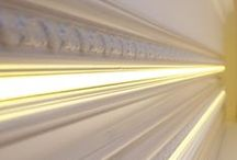 Coving with Lights / Combine your coving with LED lights or spotlights for an uplighting or downlighting effect