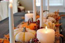 Otoño en casa / hallowen, otoño, centros mesa, ideas con calabazas