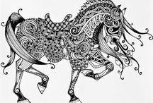 zentangle / La méthode Zentangle est une façon de se relaxer en dessinant sans pour autant avoir fait les Beaux-Arts